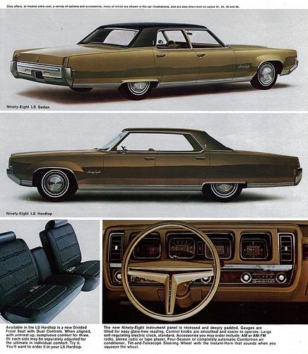 1969 Oldsmobile 98 LS Sedan