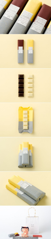 Unique Packaging Design on the Internet, Mme KIKI & Satomi Kanai Chocolate #packaging #packagingdesign #chocolate