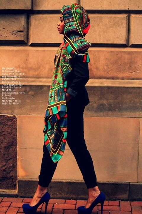 gorgeous scarf (via African fashion)