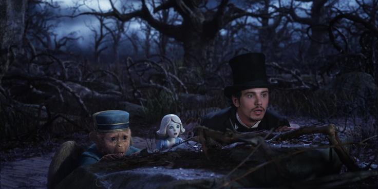 Finley, Porzellanmädchen und Oz im Düsterwald I #OZ ©Disney