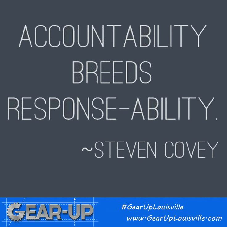 Accountability And Integrity Quotes
