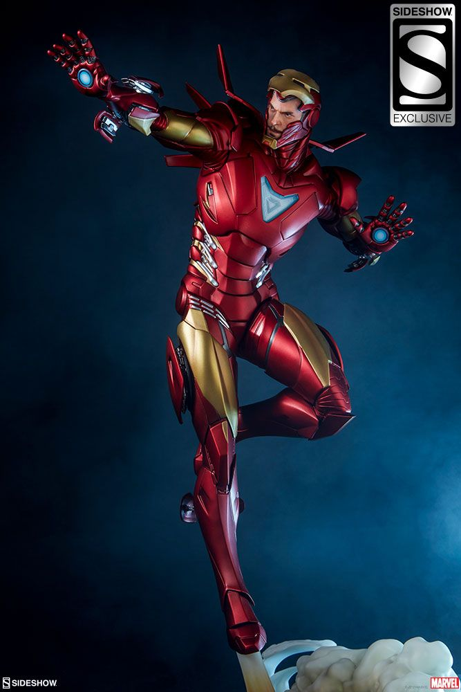 Marvel Iron Man Extremis Mark Ii Statue By Sideshow Collecti Sideshow Collectibles Iron Man Avengers Iron Man Armor Marvel Iron Man