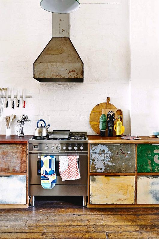 Less traditional kitchens