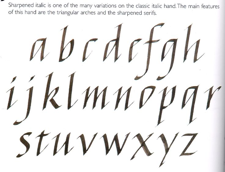 144 Best Italic Calligraphy Images On Pinterest