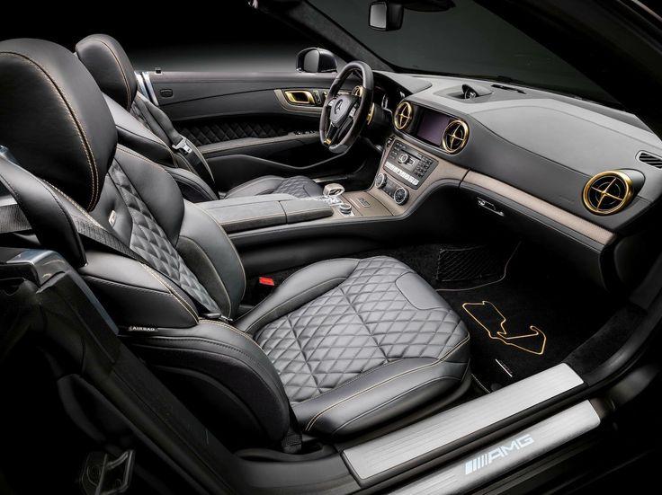 2015 Mercedes Benz SL 63 AMG World Championship   Interior   4     Wallpaper
