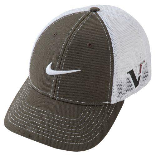 Nike Golf 20xi Tour Flex Fit Hat Black White Caps