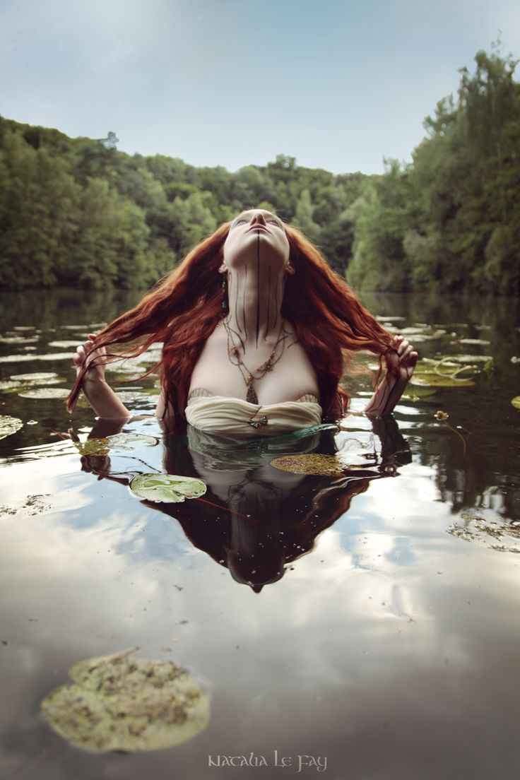 "mererecorder: "" Helena - The Sorrowful Naiad by KatiaInsomnia """