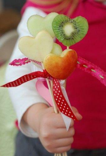 Heart-shaped fruit