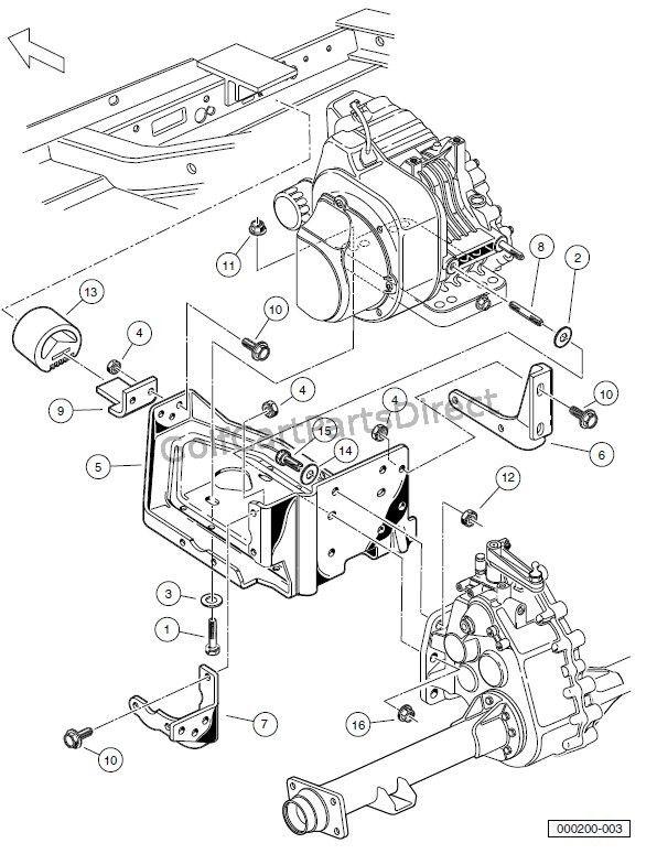 2008 Club Car Precedent Gas or Electric