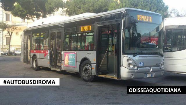 #AutobusDiRoma - Irisbus Citelis CNG: 24 nuovi bus per sostituire 24 #flambus!