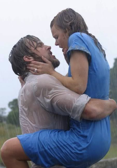 Best kiss in the rain - The Notebook