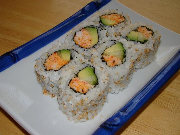 Spicy California Roll, my favorite