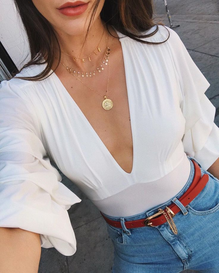 """15.8k Likes, 206 Comments - Brittany Xavier (@thriftsandthreads) on Instagram: """"layering my favorites ✨ @adinas.jewels"""""""