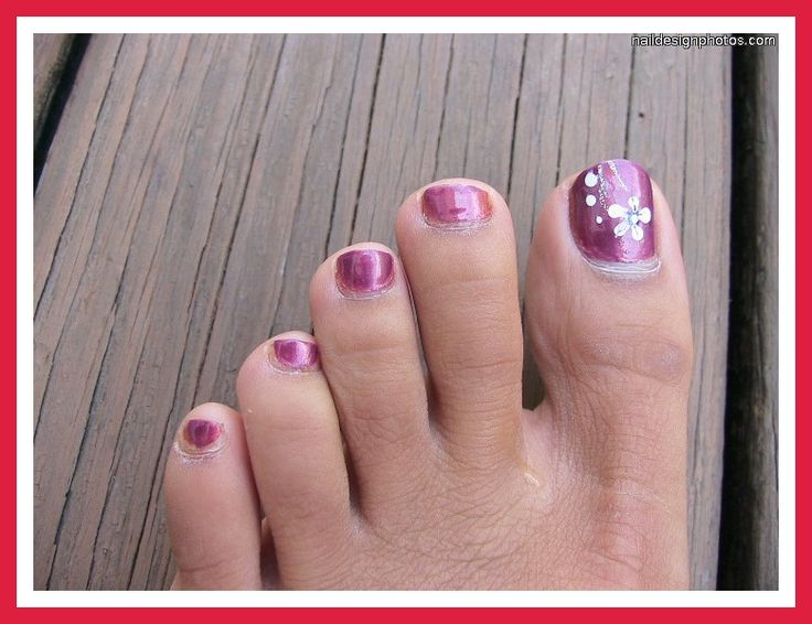 Luxury nail designs flowers do it yourself vignette nail art 12 best images about pedicures on pinterest nail art pedicures solutioingenieria Gallery