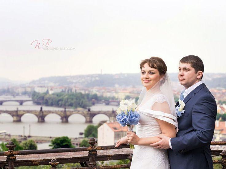 Kytice nevěsty z kal a hortenzie