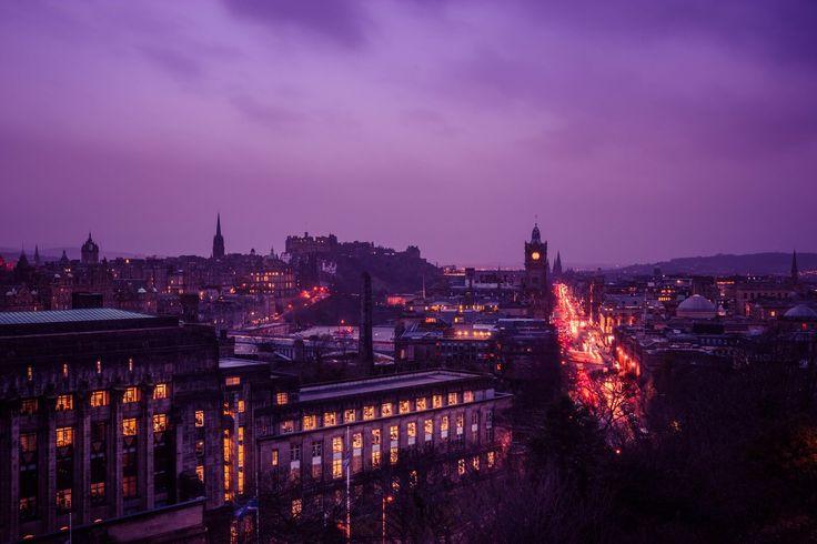 Edinburgh By Night - OGQ Backgrounds HD