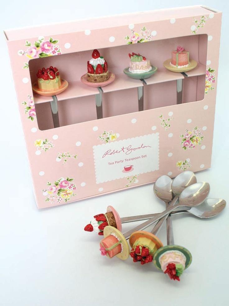 Cucharitas preciosas. I ♥ #Dialhogar  http://pinterest.com/dialhogar/  ❥ http://dialhogar.blogspot.com.es/