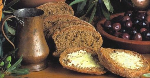 Rusks made in Chania, used to make the famous Cretan meze #ntakos - rusk with tomato and feta cheese - but also enjoy it with spreads, salmon, ham, cheeses or vegetable bites and anything else you can think of! http://agoragreekdelicacies.co.uk/online-shop/4570272291/Rusk-bread