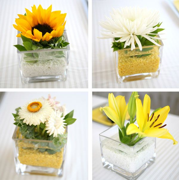 34 best images about baby shower flowers on pinterest Simple flower decoration ideas