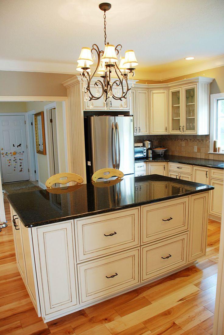 62 best kitchen images on pinterest dream kitchens kitchen white cabinets with black counter tops brighten up kitchen