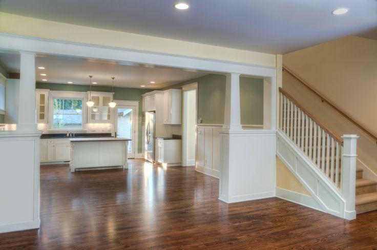Craftsman Home Interior Design Concept Beauteous Design Decoration