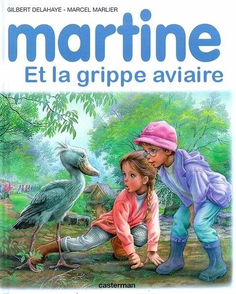 Martine et la grippe aviaire