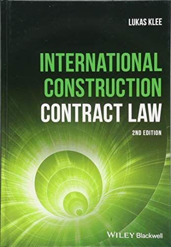 DOWNLOAD PDF] International Construction Contract Law Free