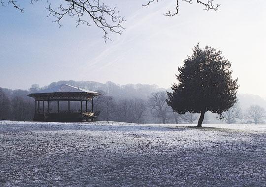 Roundhay Park, Leeds, West Yorkshire, UK