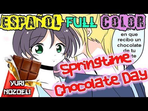 Nozoeli- Manga Yuri//Springtime Chocolate Day// [ESPAÑOL]