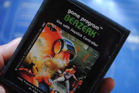 Atari 2600 Cart Soap Parody: Retro and geeky Handmade by NerdySoap