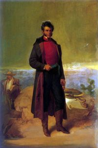 Vicente Guerrero - General in the Mexican War of Independence. Second President of Mexico in 1829.