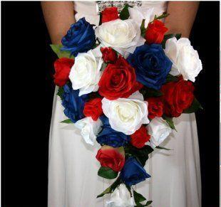 Bouquet de mariée Patriote !