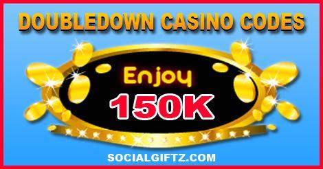 150K Doubledown Casino Promo Codes 12.17.15