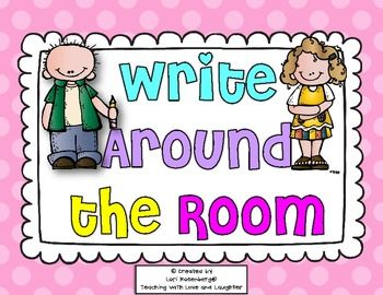 Here are 2 cute write around the room freebies. Students will walk around finding and writing words to fit in the categoriesFor more engaging writing activities for young learners, click here!LoriIf you like what you see, please follow me:Teaching With Love and LaughterFacebookPinterest