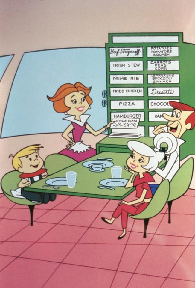 The Jetsons Cartoon Show debuted in 1962