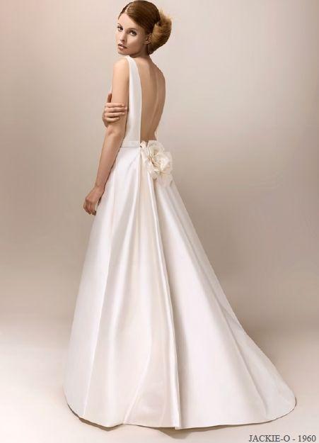 Max Chaoul wedding dress Jackie O.
