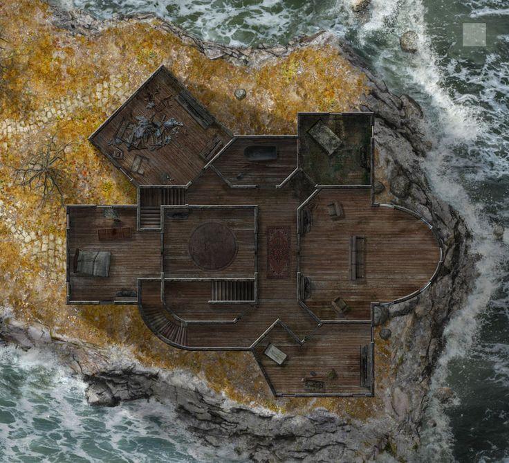 map maps fantasy manor dundjinni upper dark utilities rpg floor dnd deviantart maker foxglove attic