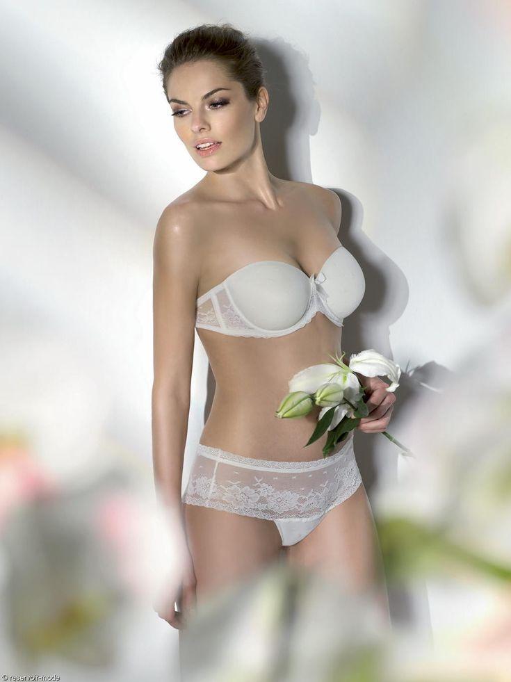 Soutien gorge mariage bandeau Valentina - lingerie mariage