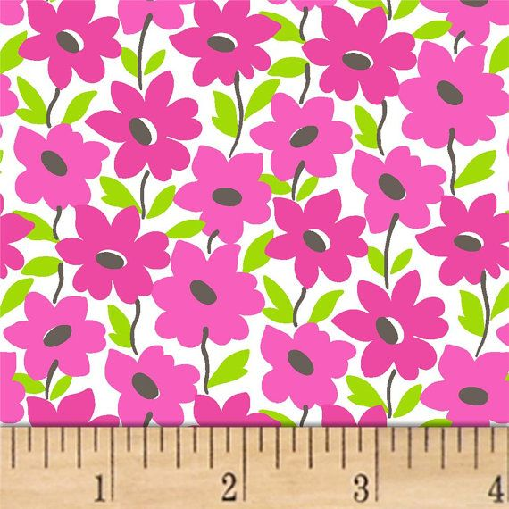 This bright and breezy collection featuring luscious florals in tropical colors and scales.  Windham - Mojito - Tropical Garden Floral - Raspberry - Fabric by the Yard 41227-5  100% cotton fabric. Machine wash in cold water with like colors and use low heat to dry.  The quantity button will allow you to purchase fat quarters (listed as 1/4 yards), half yards, full yards or 1-1/2 yard cuts. The price is listed next to the size in the drop down menu. Multiple quantities will be cut in...