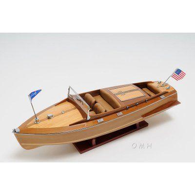 Old Modern Handicraft Christ Craft Runabout Boat - Medium - B193