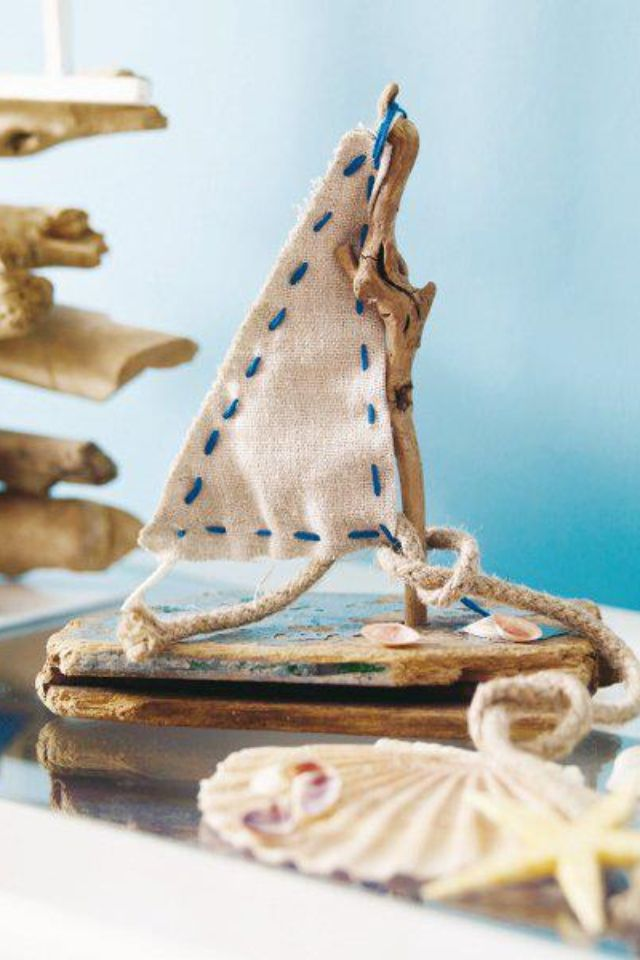 17 best images about diy toy sailing boat on pinterest for Diy driftwood sailboat