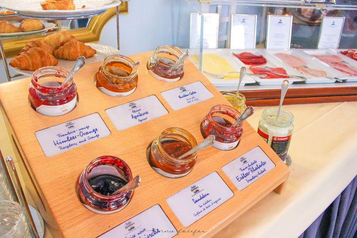 Breakfast Spread at Hotel Der Kleine Prinz in Baden-Baden Germany
