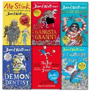 David Walliams Collection 6 Books Set specially for children which contains Billionaire Boy, Mr Stink, The Boy in the Dress, Gansta Granny, Rat burger, Demon Dentist. To know more about this book please visit http://www.play.com/stores/TheBookBundles/listing/881778221