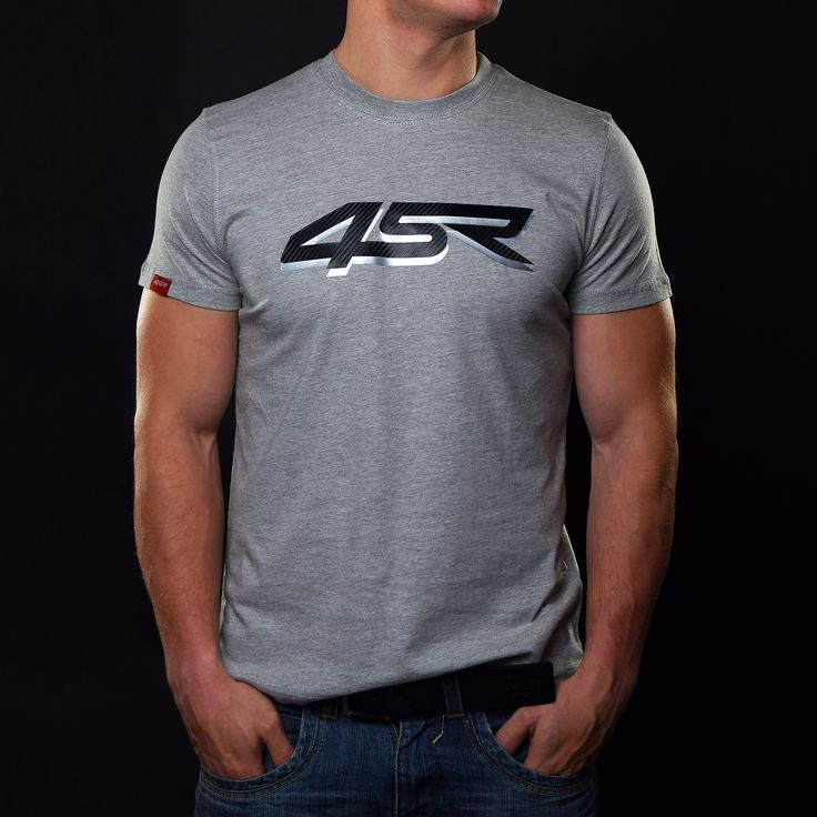 Casual T-shirt Silver Carbon from 2015 Collection.