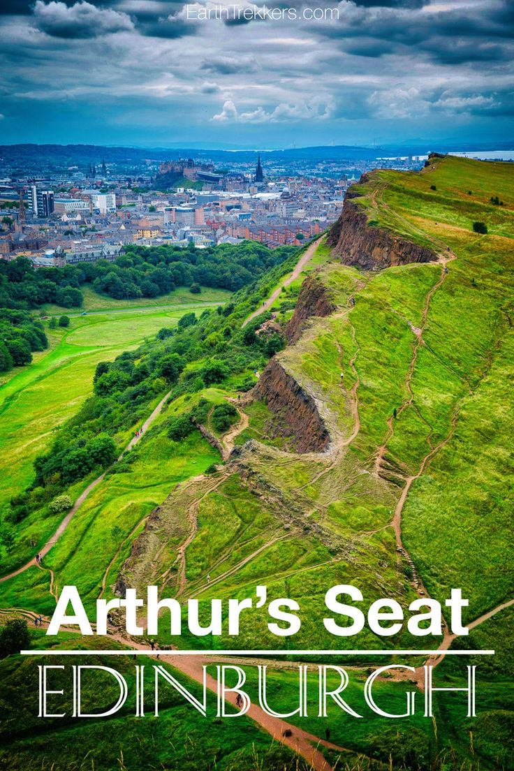 Guide to Hiking Arthur's Seat and the Salisbury Crags in Edinburgh, Scotland