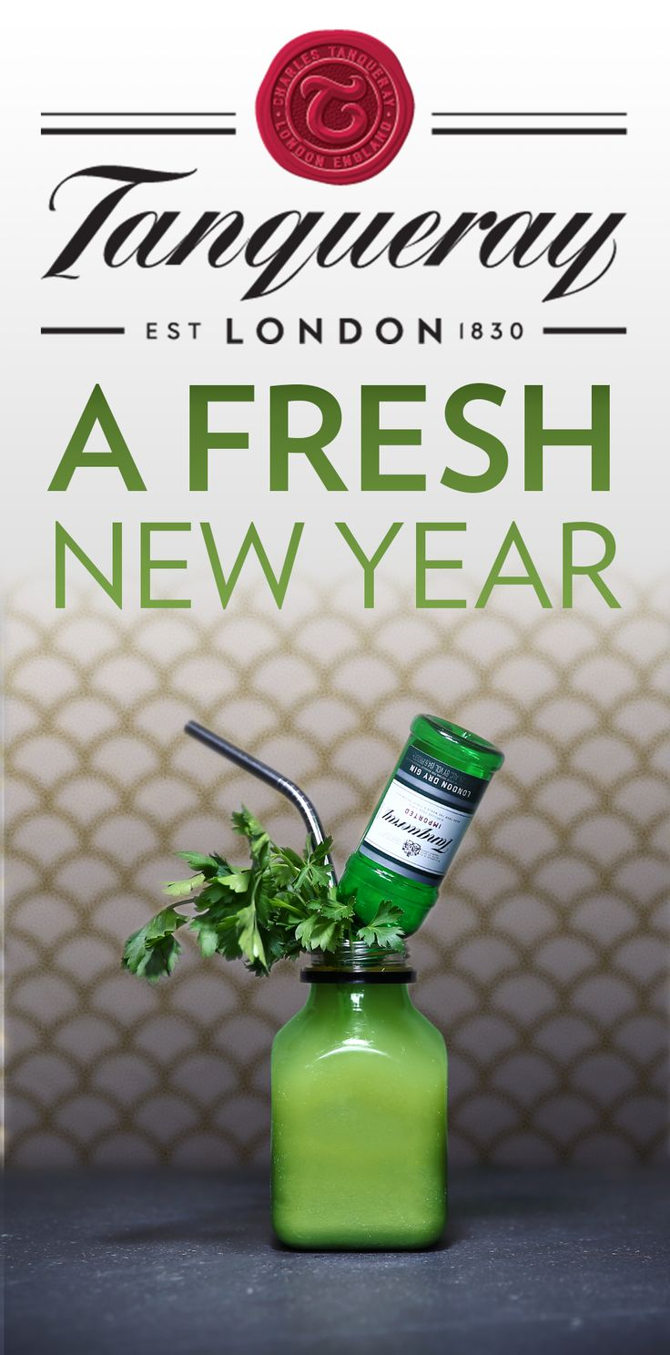 Turn over a new leaf this New Year with fresher cocktail ingredients. The Green Machine cocktail is the perfect fit for those resolutions. To make, mix 1.25 oz Tanqueray No. TEN with 3 oz of your green juice of choice over ice. Blend assorted greens with apple and lemon to create juice. Fine strain green juice into glass, add Tanqueray No. TEN and stir.