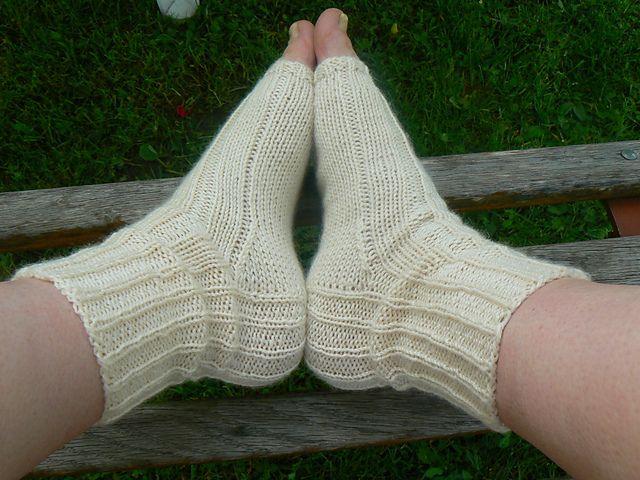 Ravelry: modena's White socks