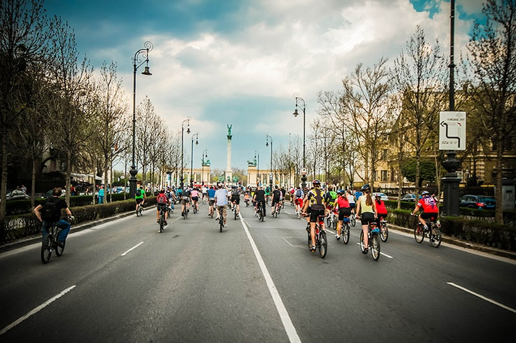 The last critical mass in Budapest...