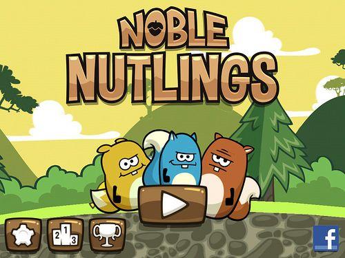 Noble Nutlings Main Menu: screenshots, UI
