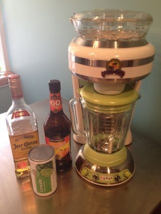 a Margaritaville Machine will work the best for this recipe...but if you don't have one, a blender should work just fine - it just won't be as fun.